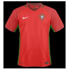 Portugal Euro 2016 maillot foot domicile