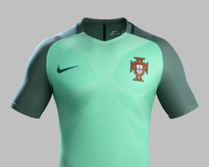 Portugal Euro 2016 maillot foot exterieur Nike