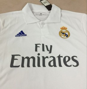 Real Madrid 2017 devant maillot domicile 16-17