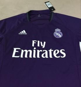 Real Madrid 2017 devant maillot exterieur football 2016 2017