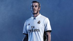 Real Madrid 2017 maillot de foot domicile 16-17 Bale