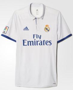 Real Madrid 2017 maillot de foot domicile officiel Adidas
