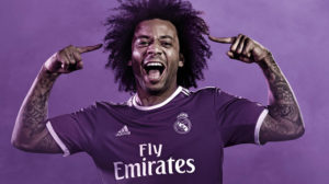 Real Madrid 2017 maillot de foot exterieur 16-17 Marcelo