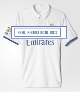 Real Madrid 2017 maillot domicile 2016 2017