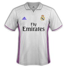 Real Madrid 2017 maillot foot domicile 2016 2017