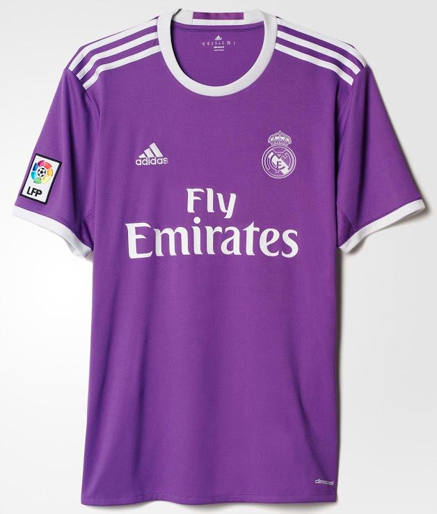 Maillot Extérieur Real Madrid de foot