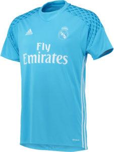 Real Madrid 2017 maillot gardien domicile