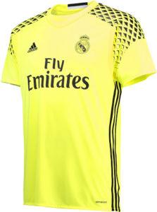 Real Madrid 2017 maillot gardien extérieur