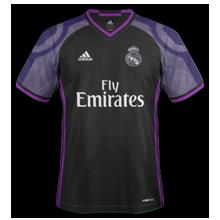Real Madrid 2017 maillot third football 16-17