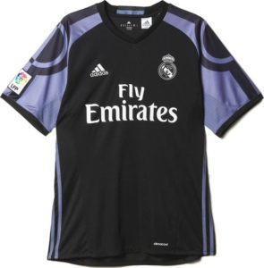 Real Madrid 2017 troisieme maillot de foot 16-17