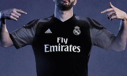 Les maillots de foot du Real Madrid 2017