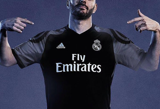 Les maillots de foot du Real Madrid 2017
