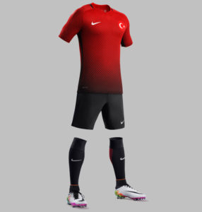 Turquie Euro 2016 maillot de foot domicile