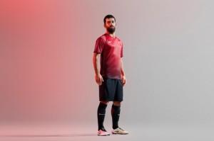 Turquie Euro 2016 maillot foot domicile officiel
