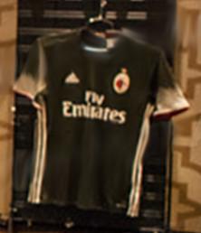 AC Milan 2017 fuite mailllot third foot 16-17