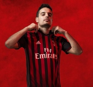 AC Milan 2017 maillot domicile 16-17 officiel