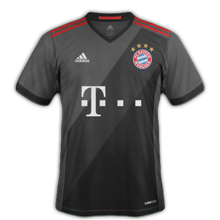 SKEL HORROR SHOW 6 ETOILES SUR LE MAILLOT - Page 5 Bayern-Munich-2016-maillot-exterieur-foot-2016-2017