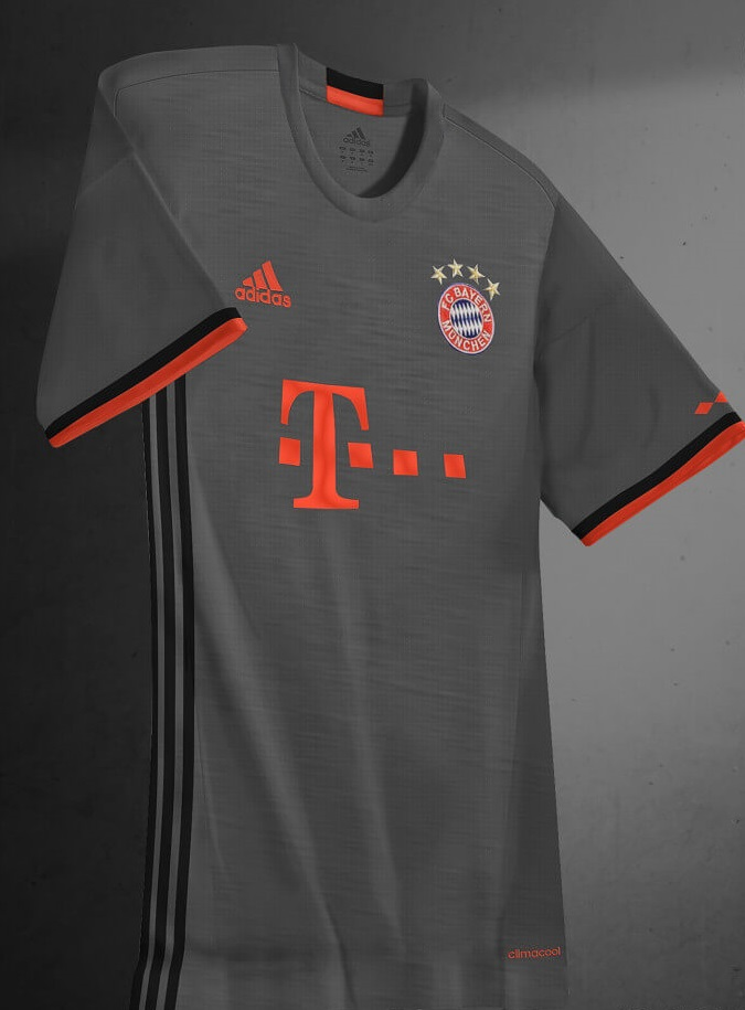 bayern munich 2017 les nouveaux maillots foot adidas On maillot bayern exterieur 2017