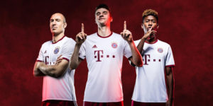 Bayern Munich 2017 maillot third officiel 16-17