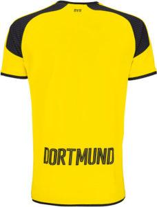 Borussia Dortmund 2017 dos maillot Ligue Des Champions 16-17