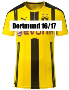 Borussia Dortmund 2017 le maillot domicile 2016 2017