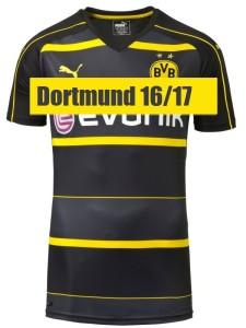 Borussia Dortmund 2017 le maillot exterieur 2016 2017