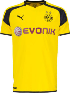 Borussia Dortmund 2017 maillot Champions League 2016 2017 officiel