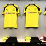 Dortmund 2017 les nouveaux maillots de football 16-17