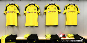 Borussia Dortmund 2017 maillot officiel Puma Europe