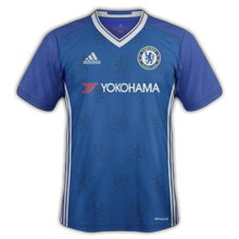 Chelsea 2017 maillot domicile foot 2016 2017