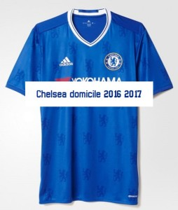 Chelsea 2017 maillot domicile foot photo Adidas 2016 2017