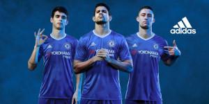 Chelsea 2017 maillot domicile officiel Adidas 2016 2017