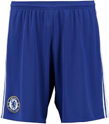 Chelsea 2017 short de foot domicile bleu