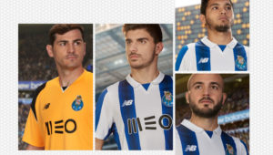 FC Porto 2016 2017 maillot de foot officiel New Balance