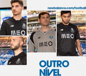 FC Porto 2017 maillot exterieur New Balance