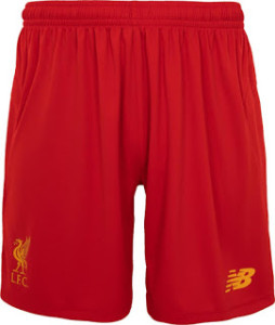 Liverpool 2017 short de foot domicile