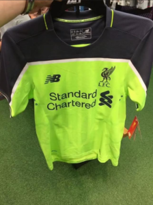 Liverpool 2017 3eme maillot third 2016 2017