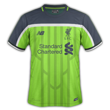 ensemble de foot Liverpool 2017