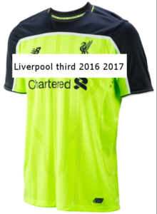 Liverpool 207 maillot third 16-17 New Balance
