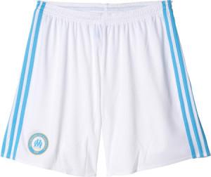 Marseille 2017 short de foot domicile blanc