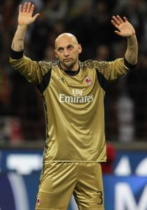 Milan AC 2016 2017 maillot de gardien doré