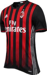 Milan AC 2017 maillot Adidas domicile 2016 2017