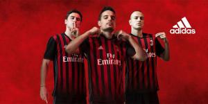 Milan AC 2017 maillot de foot domicile 2016 2017 Adidas