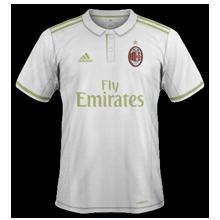 Milan AC 2017 maillot exterieur 16-17