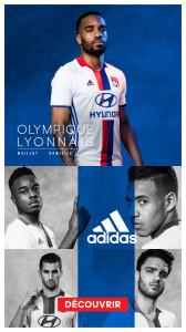 OL 2017 Lacazette maillot domicile 2016 2017 foot