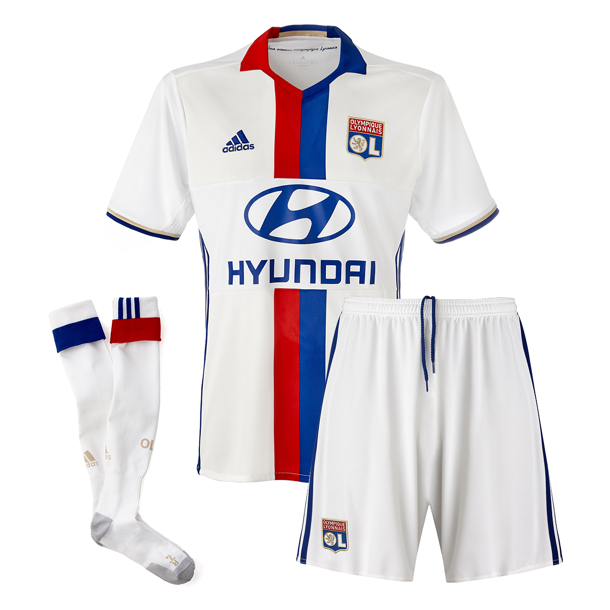 ensemble de foot OL de foot