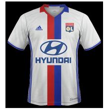 OL 2017 maillot domicile Olympique Lyonnais 2016 2017