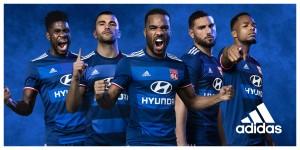 OL 2017 maillot exterieur Adidas Olympique Lyonnais 16-17