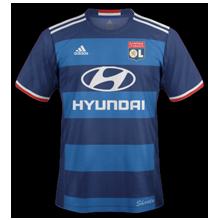 OL 2017 maillot exterieur Olympique Lyonnais 2016 2017
