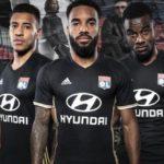 OL 2017 les maillots de football de Lyon 2016 2017
